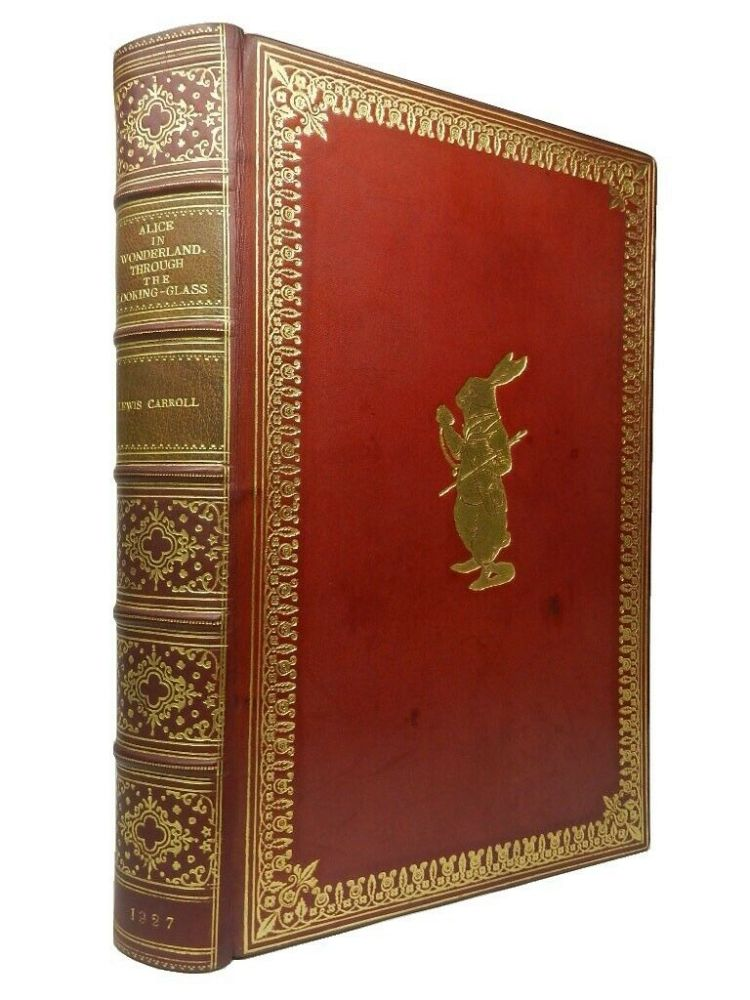 ALICE'S ADVENTURES IN WONDERLAND AND THROUGH THE LOOKING GLASS, AND WHAT ALICE FOUND THERE. With Ninety-Two illustrations by John Tenniel, Including Eight in colour. CARROLL. LEWIS., Tenniel. John. Illustrates.