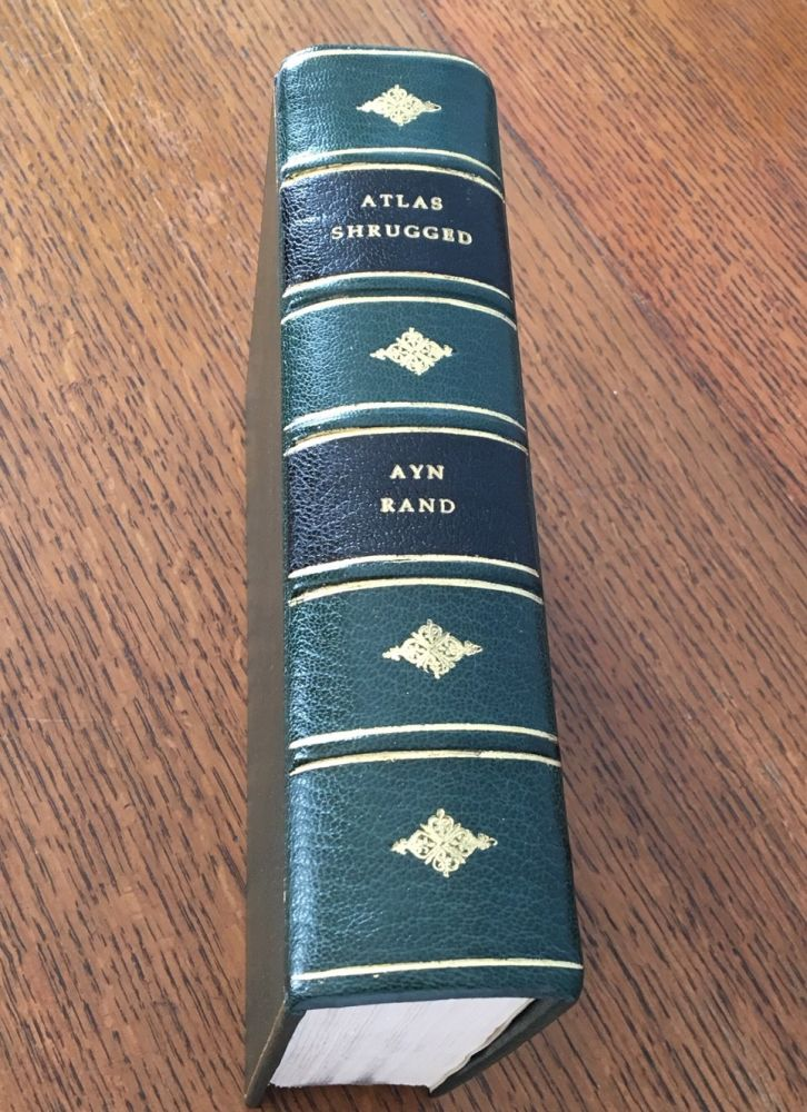 ATLAS SHRUGGED. RAND. AYN.