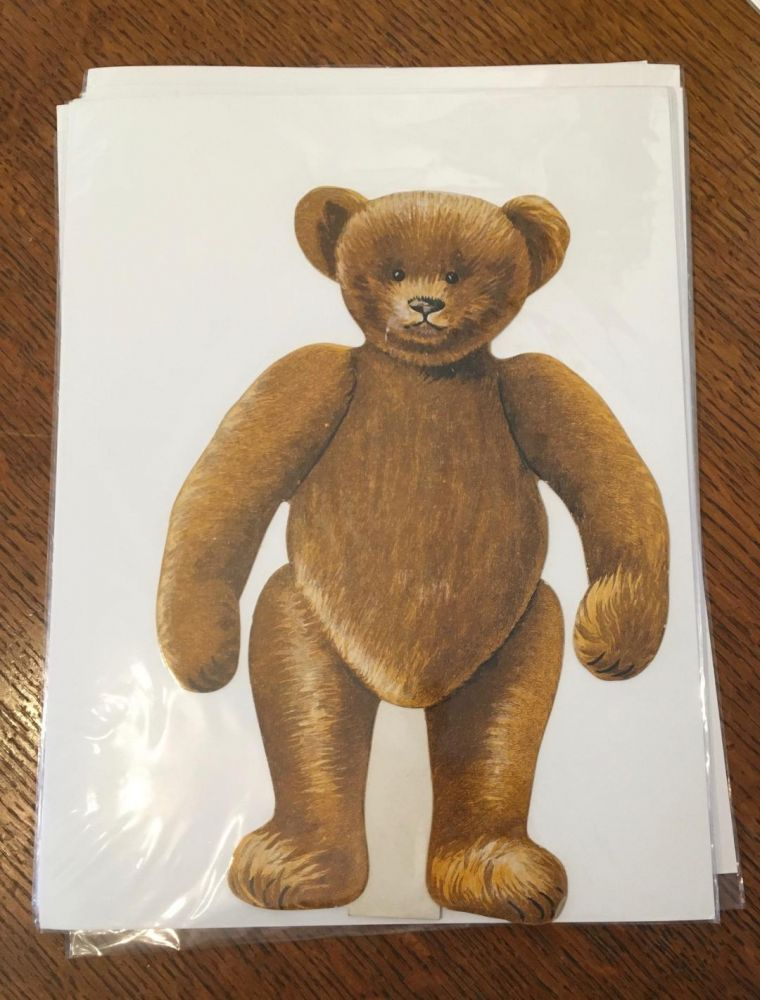 PAPER DOLL. With five outfits. TEDDY BEAR.