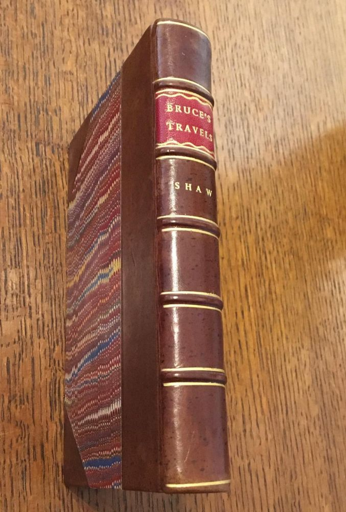 AN INTERESTING NARRATIVE OF THE TRAVELS OF JAMES BRUCE, Esq. Into Abyssinia, to discover the source of the Nile. Abridged from the original work. SHAW. SAMUEL. Esq.