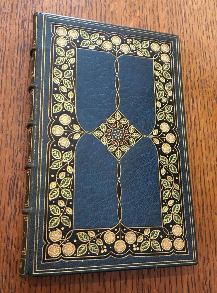 THE RUBAIYAT OF OMAR KHAYYAM. A Paraphrase from Several Literal Translations by Richard Le Gallienne. OMAR KHAYYAM., FINE BINDING.