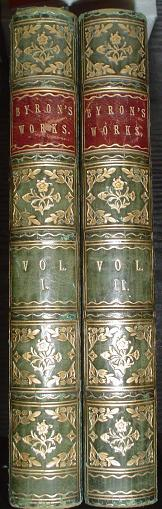 THE WORKS OF LORD BYRON. With Notes and Illustrations in Two Volumes. LORD BYRON.