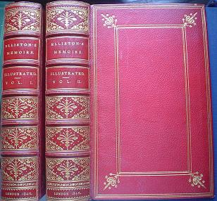 MEMOIRS OF ROBERT WILLIAM ELLISTON. COMEDIAN. Extra illustrated edition. RAYMOND. GEORGE., CRUIKSHANK. GEORGE. Illustrates.