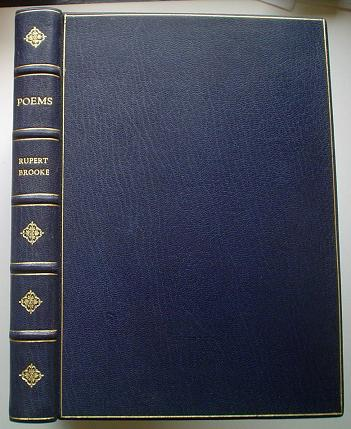 THE COLLECTED POEMS OF RUPERT BROOKE. BROOKE. RUPERT.