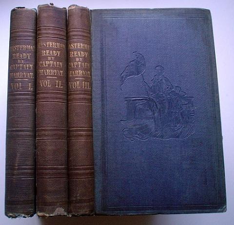 MASTERMAN READY; Or, The Wreck of the Pacific.. Written for young people. MARRYAT. CAPTAIN FREDERICK.