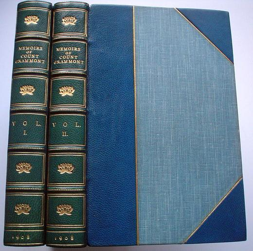 MEMOIRS OF COUNT GRAMMONT. HAMILTON. Count ANTHONY., Goodwin. Gordon. Edits.