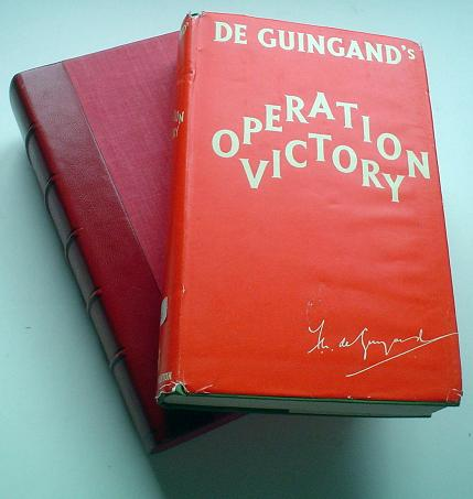 OPERATION VICTORY. GUINGAND. Sir FRANCIS DE.
