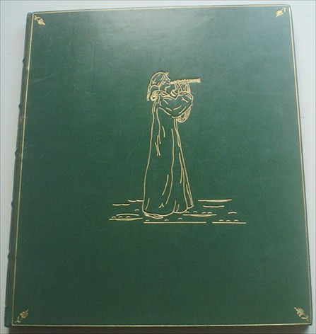 THE PIED PIPER OF HAMELIN. GREENAWAY. KATE. Illustrates., BROWNING. ROBERT.