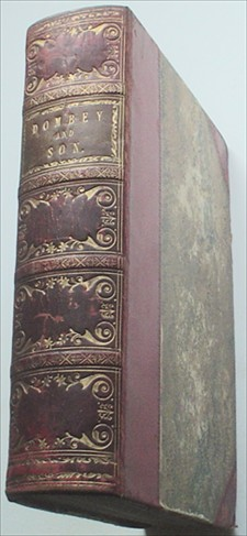 DOMBEY AND SON. Extra Illustrated. DICKENS. CHARLES., Browne. H. K. Illustrates.