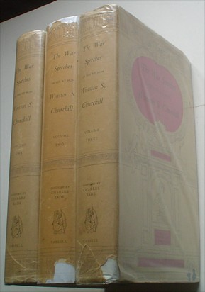 THE WAR SPEECHES. Compiled by Charles Eade. CHURCHILL. WINSTON. S.