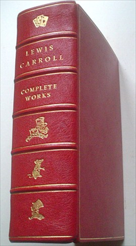 THE COMPLETE WORKS OF LEWIS CARROLL. With an introduction by Alexander Woollcott and the illustrations by John Tenniel. CARROLL. LEWIS., Dodgson. Charles L.