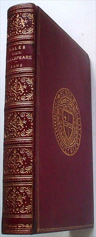 TALES FROM SHAKESPEARE. Designed for the use of Young People. LAMB. CHARLES., Dalziel Brothers. Illustrate.