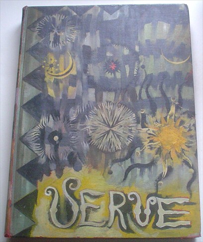 VERVE. An artistic and Literary Quarterly. Volume one, Numbers three and four. October -December 1938, & January - March 1939. VERVE. -- HAND PAINTED, GAYLEN HANSEN., Teriade. E. Director.