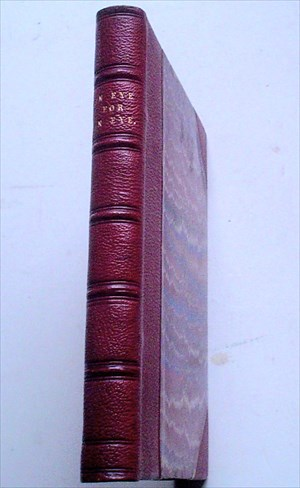AN EYE FOR AN EYE. Copyright Edition. TROLLOPE. ANTHONY.