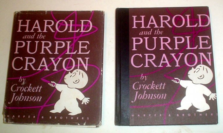 HAROLD AND THE PURPLE CRAYON. JOHNSON. CROCKETT.