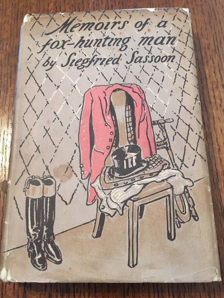 MEMOIRS OF A FOX-HUNTING MAN. With illustrations by William Nicholson. Illustrates SASSOON. SIEGFRIED. -- Nicholson. Williamson.