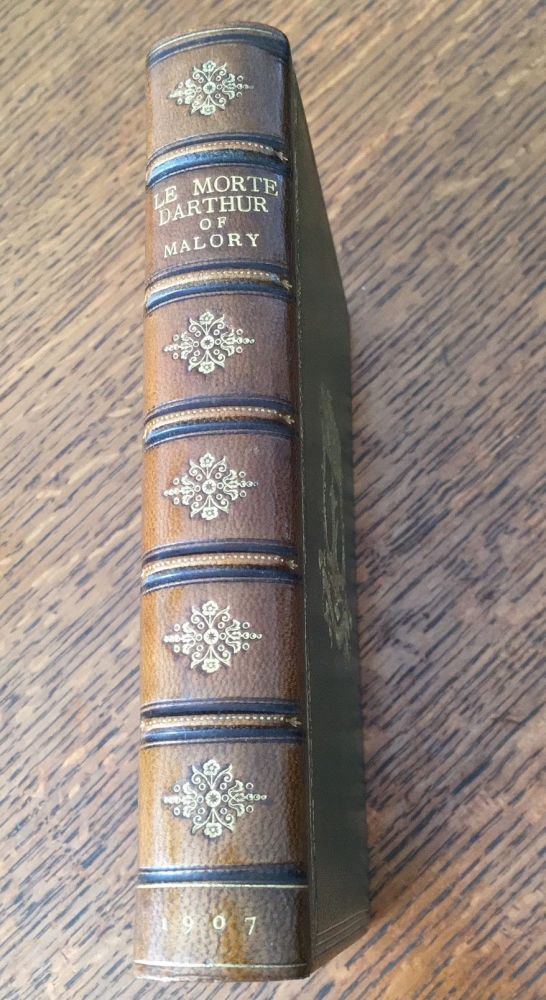 LE MORTE DARTHUR. Sir Thomas Malory's book of King Arthur and his noble Knights of the Round Table. The text of Caxton edited, with an introduction by Sir Edward Strachey, Bart. MALORY. Sir THOMAS., Strachey. Sir Edward. Edits.