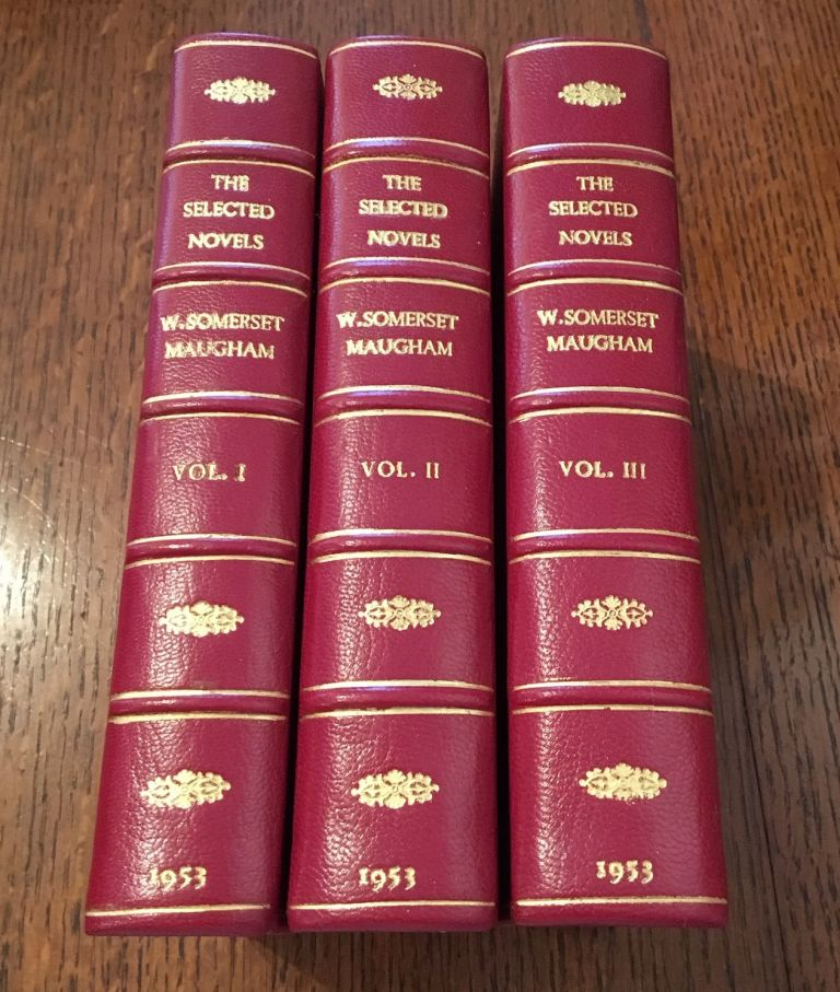THE SELECTED NOVELS. MAUGHAM. W. SOMERSET.