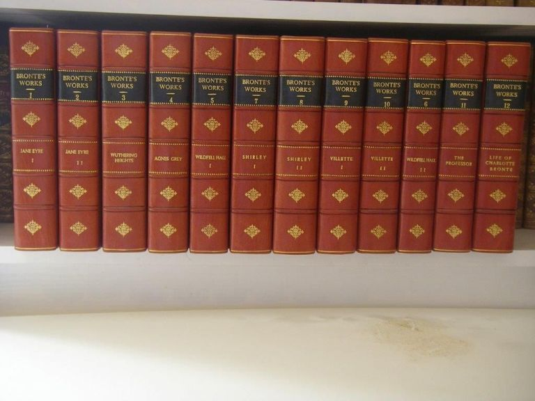 THE NOVELS. The Thornton edition. BRONTE. CHARLOTTE. EMILY, ANNE.
