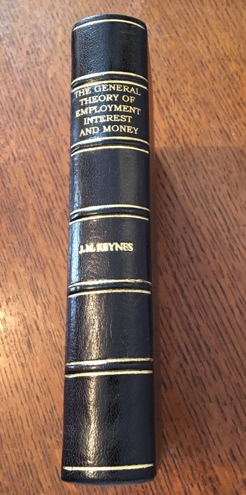 THE GENERAL THEORY OF EMPLOYMENT INTEREST AND MONEY. KEYNES. JOHN MAYNARD.