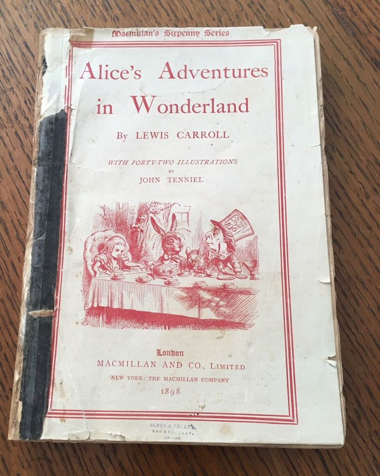 ALICE'S ADVENTURES IN WONDERLAND and THROUGH THE LOOKING GLASS. And what Alice found there. CARROLL. LEWIS., Tenniel. John. Illustrates.