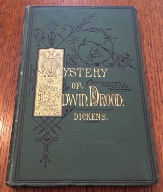THE MYSTERY OF EDWIN DROOD. With Illustrations. DICKENS. CHARLES.