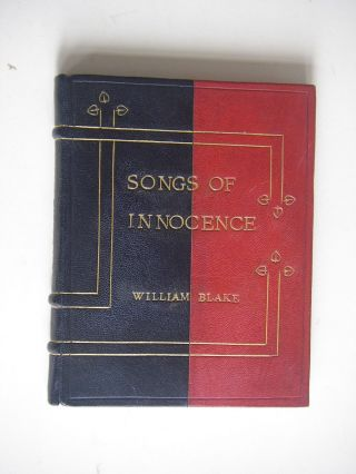 SONGS OF INNOCENCE. BLAKE. WILLIAM