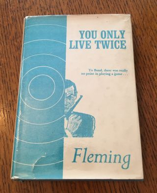 YOU ONLY LIVE TWICE. FLEMING. IAN