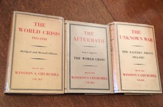THE WORLD CRISIS. -- THE AFTERMATH. -- THE UNKNOWN WAR. 1911-1918. Abridged and revised with an additional chapter on the Battle of the Marne.