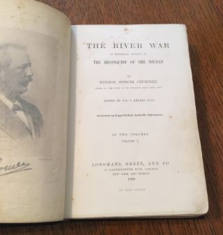 THE RIVER WAR. An Account of the Reconquest of the Soudan.