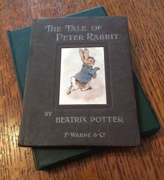 THE TALE OF PETER RABBIT.