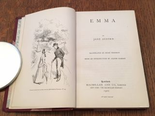 EMMA. With an introduction by Austin Dobson.