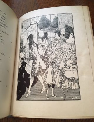 THE RAPE OF THE LOCK. An Heroi-Comical poem in five cantos. Embroidered with nine drawings by Aubrey Beardsley.