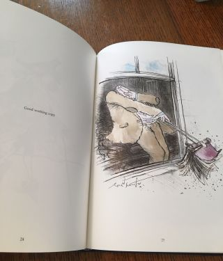 SLIGHTLY FOXED - BUT STILL DESIRABLE. Ronald Searle's wicked world of book collecting.