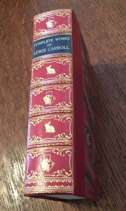 THE COMPLETE WORKS OF LEWIS CARROLL. With an introduction by Alexander Woollcott and the...