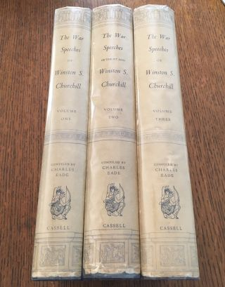 THE WAR SPEECHES. Compiled by Charles Eade. CHURCHILL. WINSTON. S