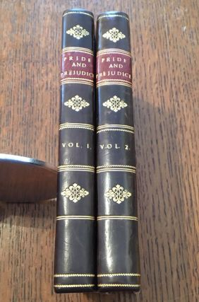 "PRIDE AND PREJUDICE. In Two volumes. By the Author of ""Sense and Sensibility,"" &c. AUSTEN. JANE"