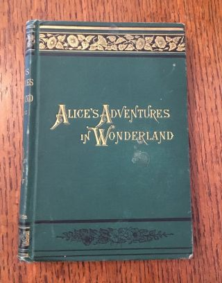 ALICE'S ADVENTURES IN WONDERLAND. New Edition. With Forty-Two illustrations by John Tenniel....
