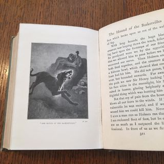 THE HOUND OF THE BASKERVILLES. Another adventure of Sherlock Holmes. - Longmans Colonial Library edition.