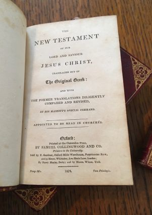 THE HOLY BIBLE. -- NEW TESTAMENT. -- PSALMS OF DAVID.
