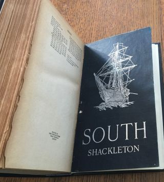 SOUTH. The story of Shackleton's last expedition 1914-1917.