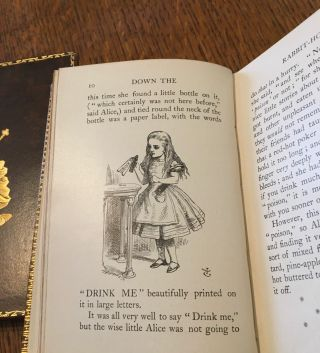 ALICE'S ADVENTURES IN WONDERLAND. --- & ---THROUGH THE LOOKING GLASS, AND WHAT ALICE FOUND THERE.