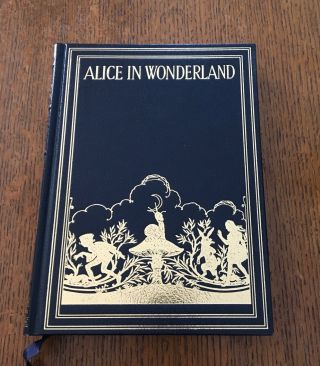 ALICE'S ADVENTURES IN WONDERLAND. CARROLL. LEWIS., Gwynedd M. Illustrates Hudson