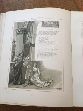 ROMEO AND JULIET. A Tragedy. -- With illustrations by Ludovic Marchetti, Lucius Rossi, and Oreste Cortazzo,