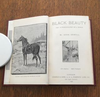 BLACK BEAUTY. The autobiography of a Horse.