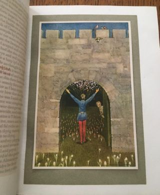 THE ROMAUNT OF THE ROSE. Rendered out of the French into English by Geoffrey Chaucer. Illustrated by Keith Henderson and Norman Wilkinson.