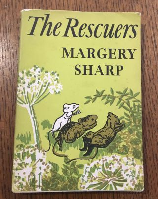 THE RESCUERS. With drawings by Judith Brook. SHARP. MARGERY