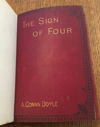 THE SIGN OF FOUR.