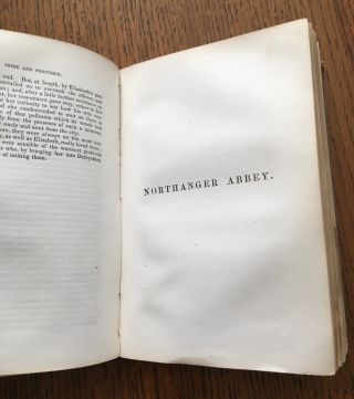 PRIDE AND PREJUDICE, & NORTHANGER ABBEY. Complete in one volume. With a biographical notice of the Author. Standard Female Novelists.