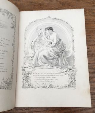 IRISH MELODIES. Illustrated by D. Maclise, R. A.